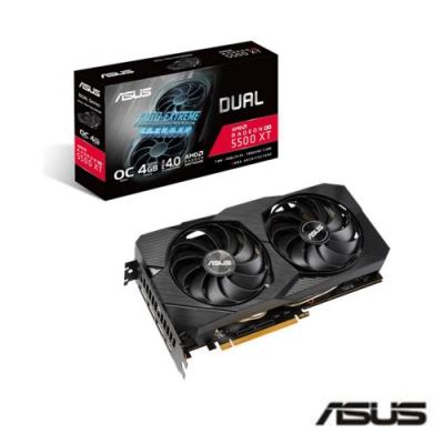 華碩 ASUS Dual Radeon RX 5500XT EVO 4GB顯示卡