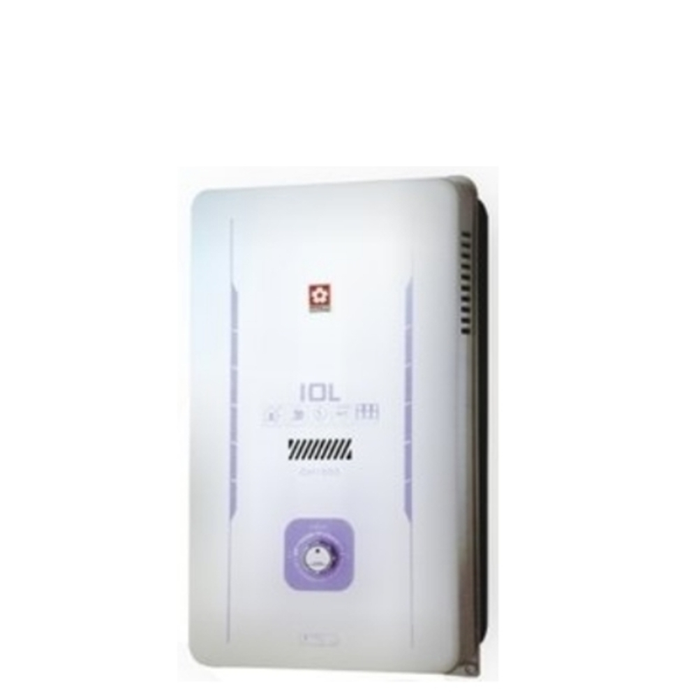 (全省安裝)櫻花10公升熱水器桶裝瓦斯GH-1005L