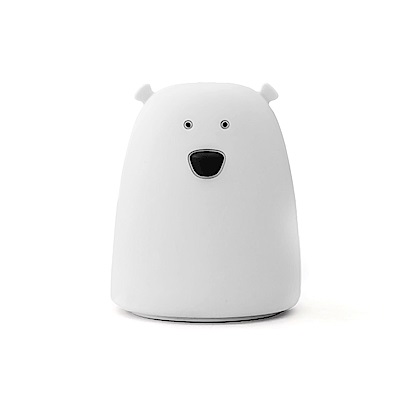 【HouseTool】超療瘉超舒壓多用途七彩造型拍拍燈(小白熊)