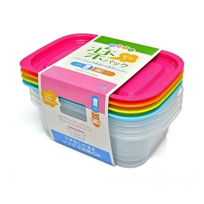 日本製造INOMATA新漾彩4色PP微波保鮮盒(850ml)