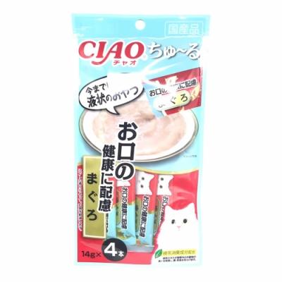 日本 CIAO 啾嚕燒肉泥 SC-176 口腔保健 鮪魚 14g*4入