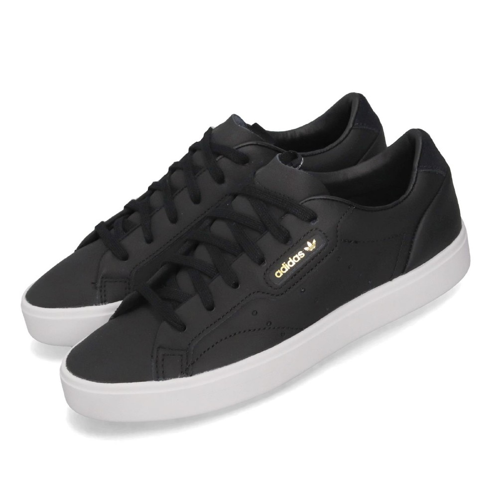 adidas 休閒鞋 Sleek W 低筒 板鞋 小金標 女鞋