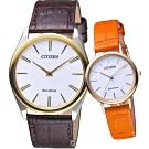 CITIZEN 星辰 真情相擁對錶對錶(AR3074-03A+EM0577-28A)