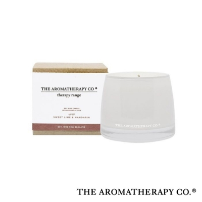 The Aromatherapy Co. 紐西蘭天然香氛 Therapy系列 萊姆柑橘 Sweet Lime and Mandarin 260g 香氛蠟燭