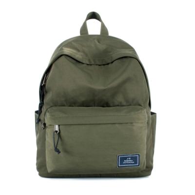 J II 後背包 經典水洗防潑水後背包-橄欖綠-6296-15