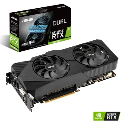 ASUS Dual GeForce RTX 2060 SUPER A8G EVO 顯示卡