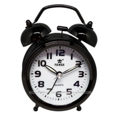 POWER霸王鐘錶-懷舊復古小鬧鐘-2色任選