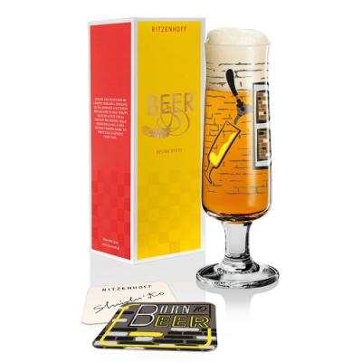 德國 RITZENHOFF BEER 新式啤酒杯-beer工業風