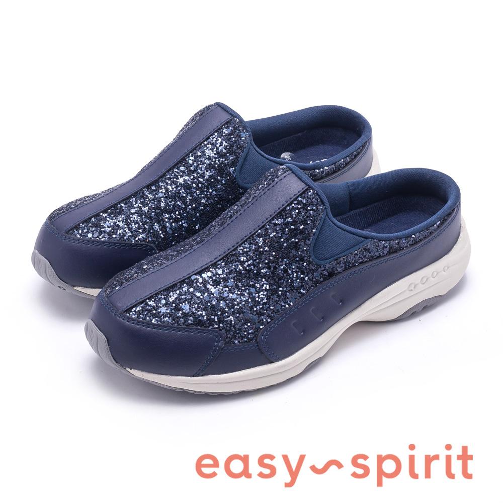 Easy Spirit TRAVELTIME332 閃耀舒適時尚運動休閒鞋-藍色
