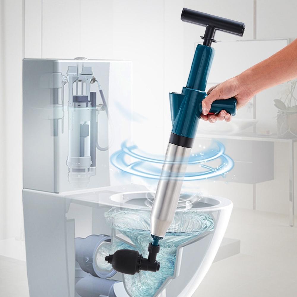 澄境 升級款氣壓式管道疏通器/水管疏通器(顏色隨機)
