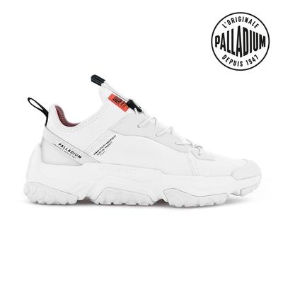 PALLADIUM OFF-GRID LO NYL快穿輕量輪胎潮鞋(綁帶)-中性-白