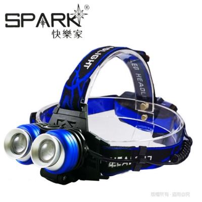 SPARK 雙眼變焦38W高亮度充電式頭燈 H018