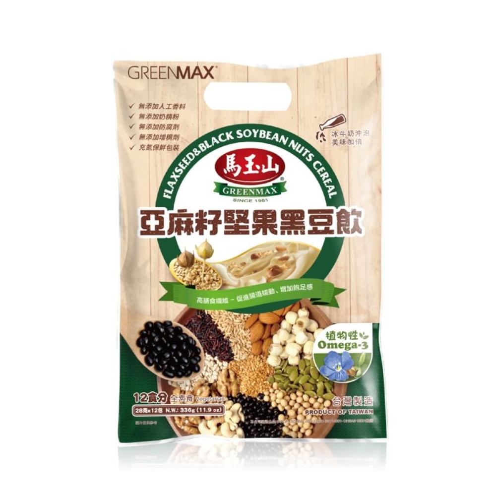 亞麻籽堅果黑豆飲28g×12pcs(袋)