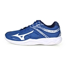 MIZUNO 男 排球鞋 THUNDER BLADE 2 藍白丈青