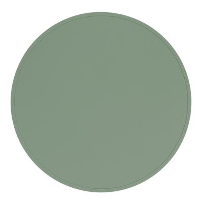 澳洲We Might Be Tiny 矽膠防滑餐墊圈圈-灰綠