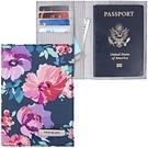 《TRAVELON》兩折式護照夾(花卉)
