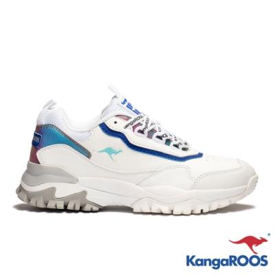 KANGAROOS 男 NEON 越野老爹鞋(白)