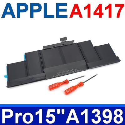 APPLE 蘋果 A1417 電池 A1398 適用型號 MacBook Pro Retina 15 ME664 ME665 MC975 MC976 xx/A 系列