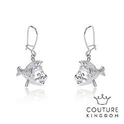 Disney Jewellery by Couture Kingdom 小比目魚鍍白金耳環