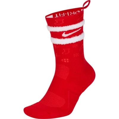 NIKE 襪子 運動襪 中筒襪 男女款 2雙組 紅白 CK6786657 U NK ELT CREW-XMAS