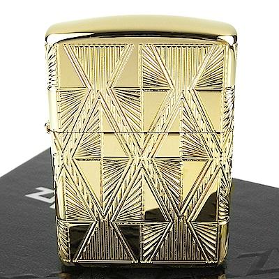 ZIPPO美系 Luxury Diamond奢華菱形圖案設計打火機