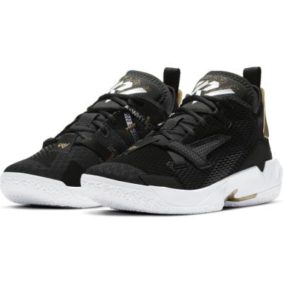 NIKE  籃球鞋  運動鞋 喬丹 包覆 緩震 男鞋 黑 CQ4231001 JORDAN WHY NOT ZER0.4 PF