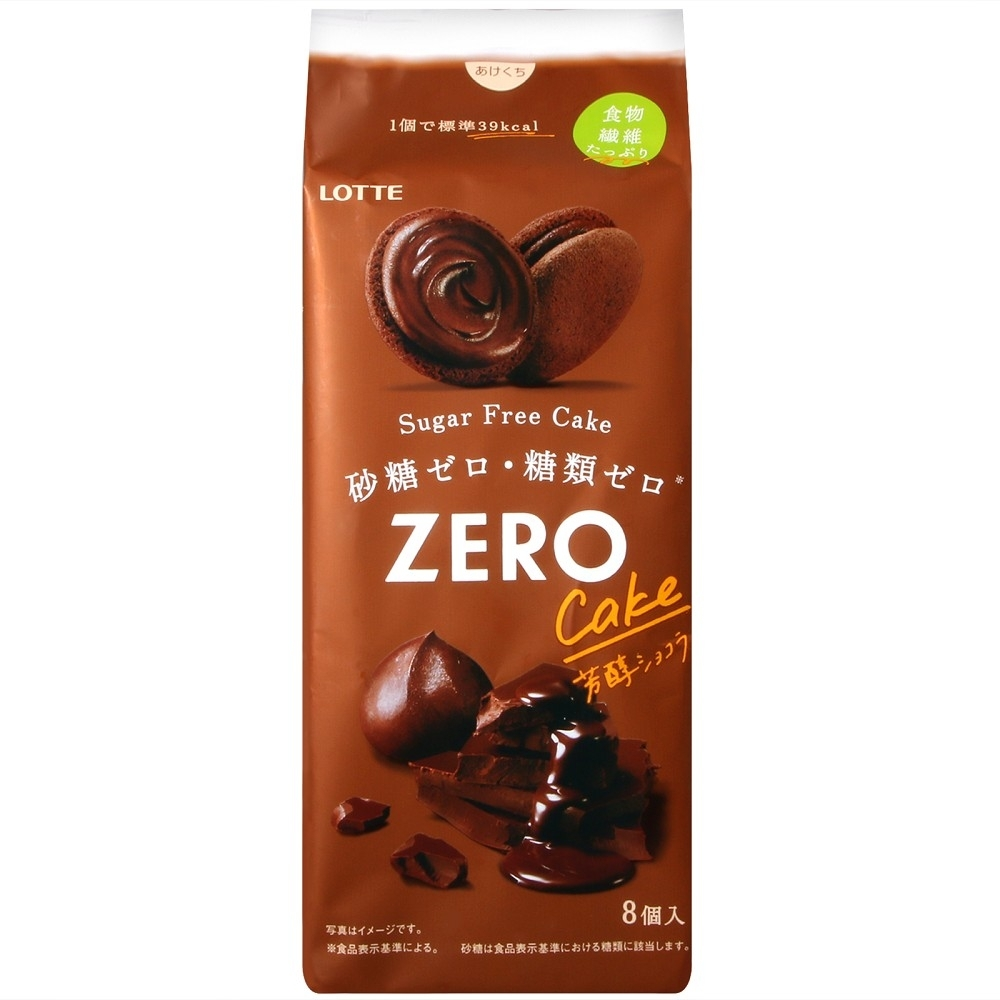 Lotte 芳醇巧克力風味蛋糕(70.4g)