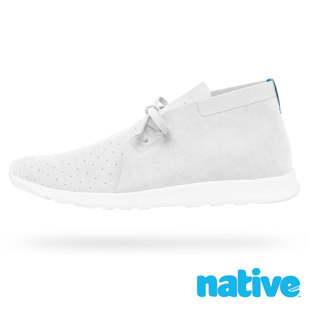native APOLLO CHUKKA 男/女鞋-貝殼白