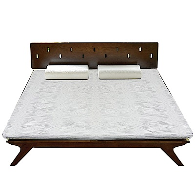 Albert 艾柏 透氣乳膠6尺雙人加大薄床墊(二色布花可選)-180x188x5.3免組