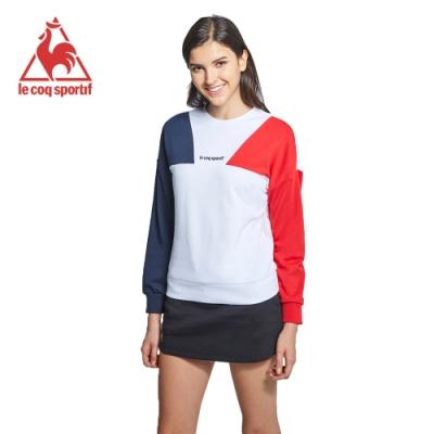 法國公雞牌圓領T恤 LYI2268590-女-白