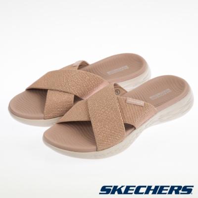 SKECHERS  女健走系列 拖鞋 ON THE GO 600-16259RSGD
