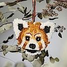 荷蘭東印度公司 小貓熊造型羊毛吊飾