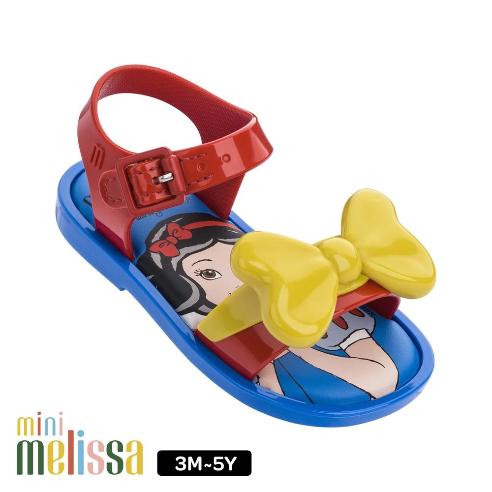Melissa 白雪公主蝴蝶結造型涼鞋 撞色
