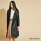 MOMA 長版真皮大衣