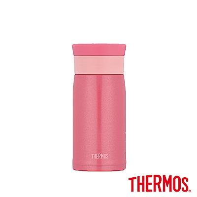 THERMOS膳魔師 不鏽鋼真空保溫杯0.35L(JMZ-350)-PRP(珠光粉)