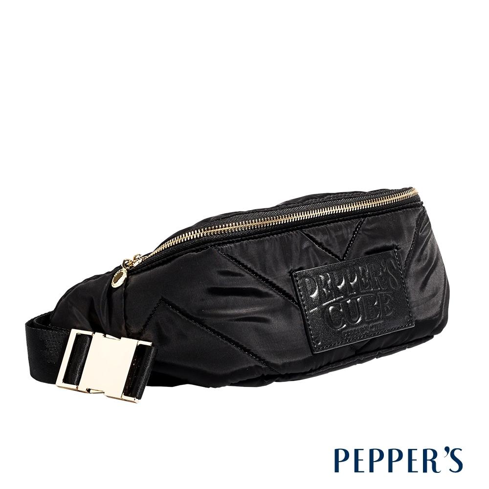 PEPPER'S Harper 尼龍單肩腰包 - 煙燻黑