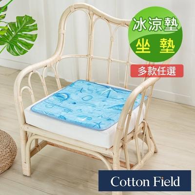 棉花田 極致酷涼冷凝坐墊冰涼墊-多款可選(45x45cm)