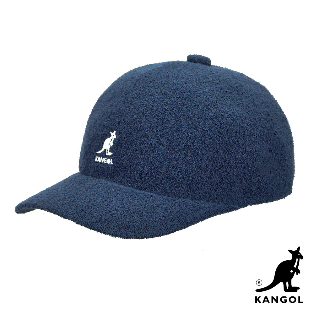 KANGOL-BERMUDA 棒球帽-藍色