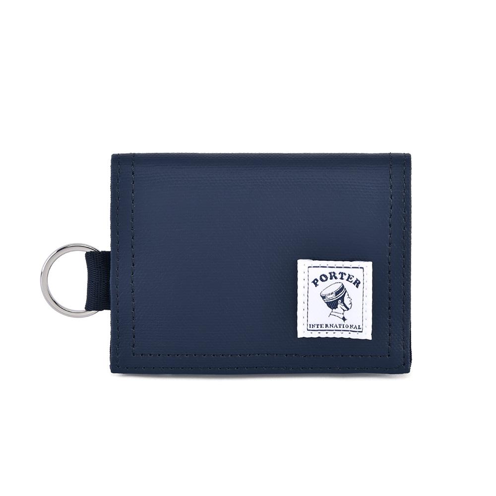 PORTER - 輕巧實用CATCH經典零錢包 - 深藍