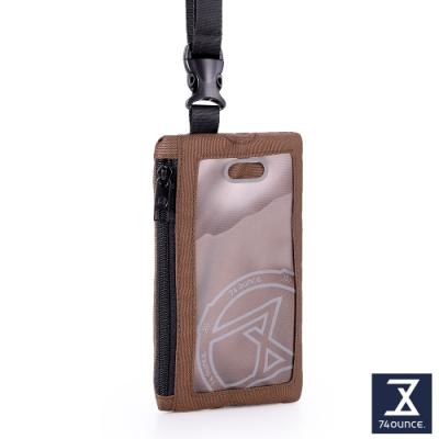 74盎司 Life 頸掛手機兩用包[TG-235-Li-T]咖啡