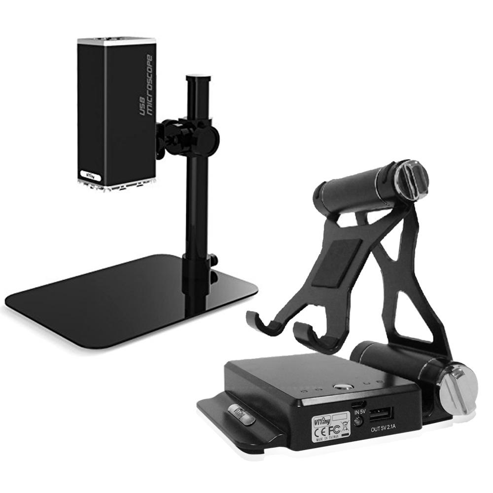 Vitiny 無線Wi-Fi影像發射器+桌上型USB顯微鏡組(IMB-07+UM12)