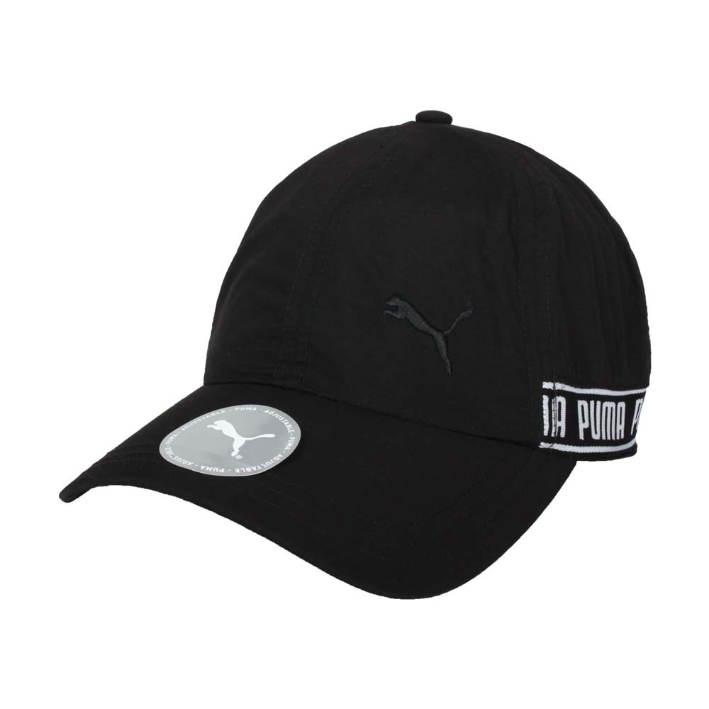 PUMA 棒球帽-帽子 防曬 遮陽 鴨舌帽 老帽 02285401 黑白