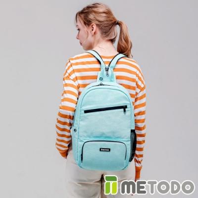 【METODO防盜包】ST 2-in-1 Bag L不怕割後背包/斜背包TSL-805海洋藍/耐磨防潑水/旅遊包/休閒包