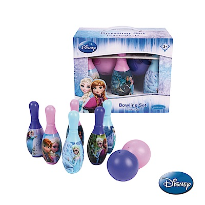 《凡太奇》Disney迪士尼冰雪奇緣保齡球玩具組-速