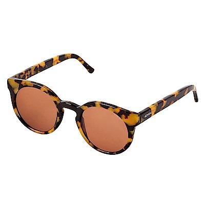 KOMONO CRAFTED工藝款手工太陽眼鏡 Lulu-黑色琥珀