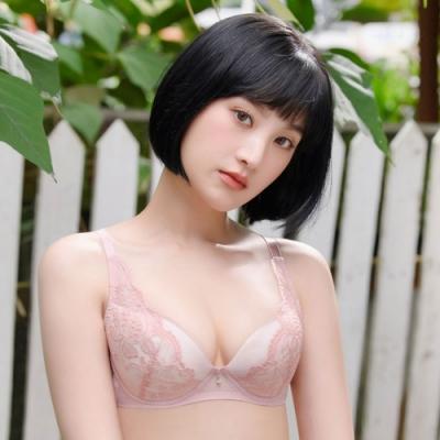 莎薇-VV好愛現 D-E罩杯內衣(輕盈橘) 性感又透氣的BRA