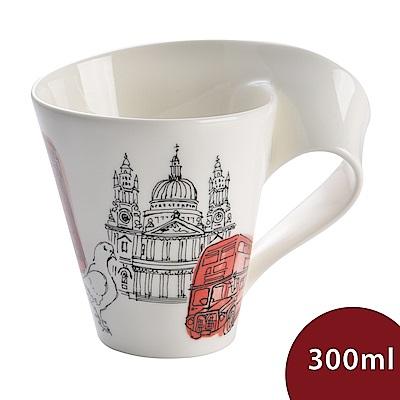 Villeroy & Boch 唯寶 城市波浪馬克杯-倫敦(300ml)