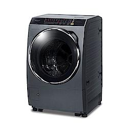 [無卡分期12期]Panasonic國際牌 洗脫烘滾筒洗衣機 NA-V158DDH 晶燦銀