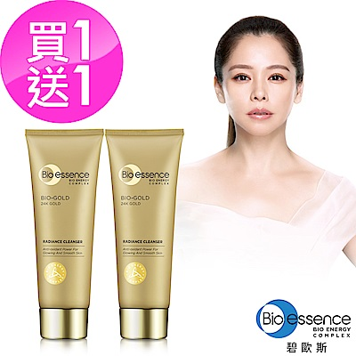 Bio-essence 碧歐斯 BIO金萃喚膚潔面霜100g(2入組)