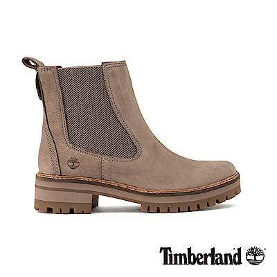 Timberland女款灰色絨面Courmayeur 休閒鞋|A1RRK